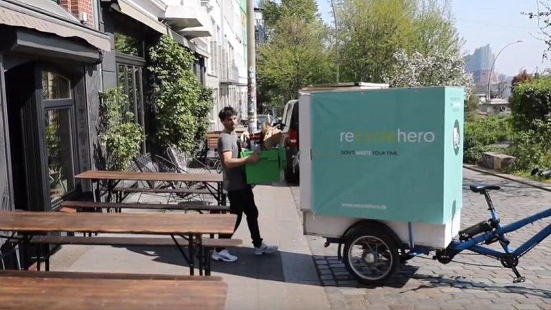 Recyclehero, Recycling, Altglas