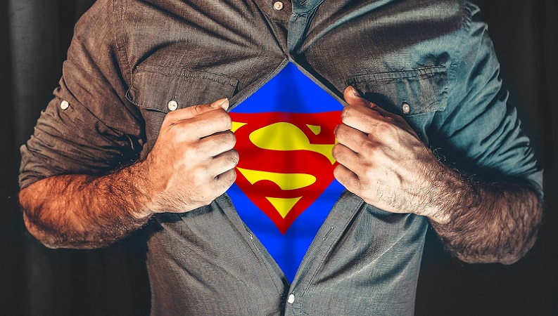Superman, Superheld, Super-Hero, Künstliche Intelligenz