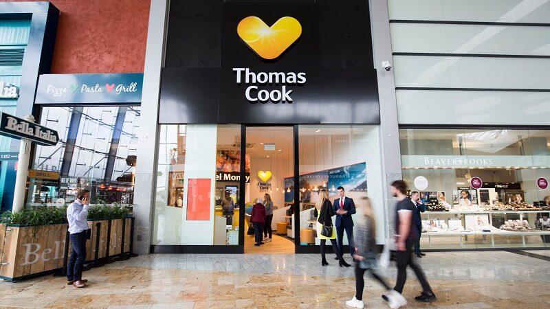 Thomas Cook, Reisebüro, reisen