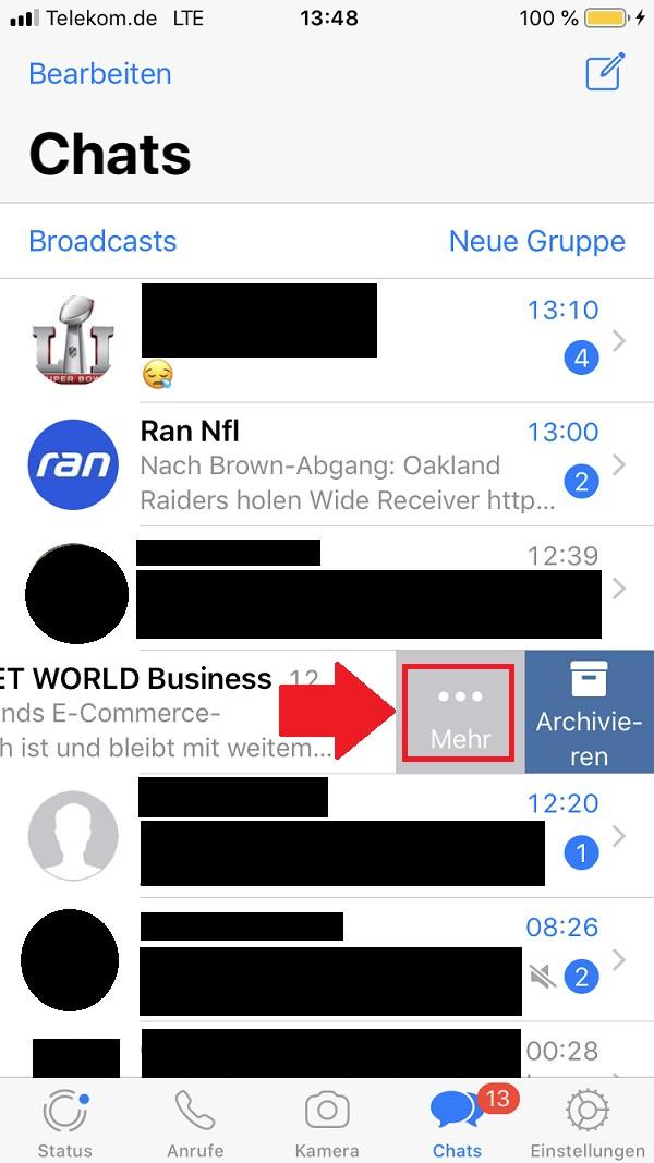 WhatsApp, WhatsApp-Chat exportieren, Whatsapp Chat exportieren, WhatsApp-Chats exportieren