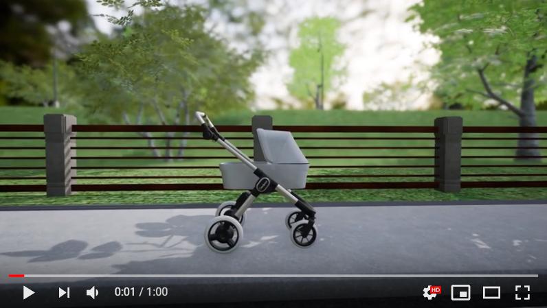 Emmaljunga, E-Stroller, Kinderwagen