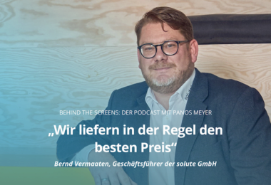 Bernd Vermaaten, billiger.de, Podcast, Behind The Screens, Panos Meyer