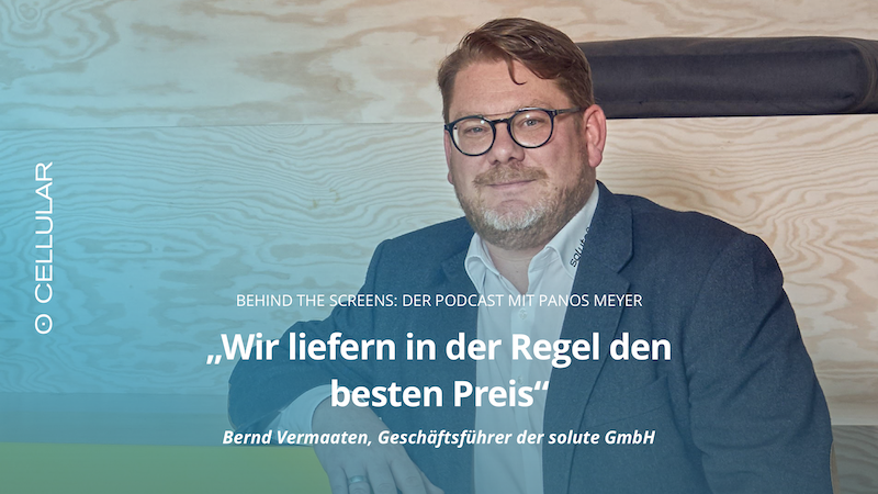 Bernd Vermaaten, billiger.de, Podcast, Behind The Screens, Panos Meyer