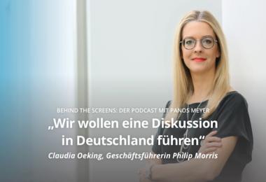 Claudia Oeking, Philip Morris, Digitalisierung, Behind The Screens, Podcast