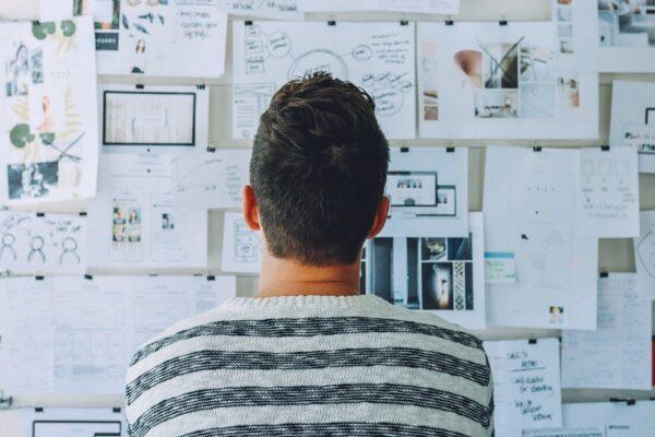 Team, Office, Büro, Kreativ, Mindmap
