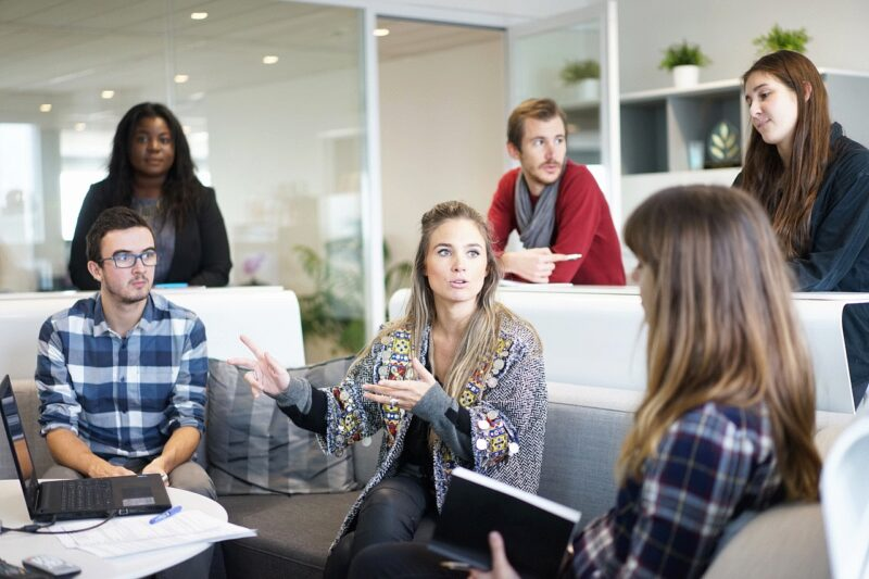 Team, Büro, Arbeit, Besprechung