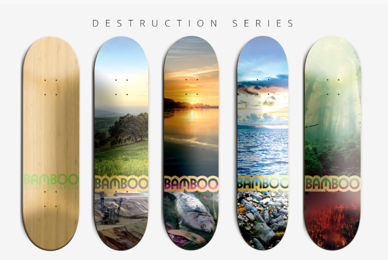 Bamboo Skateboards, Longboards, Bambus