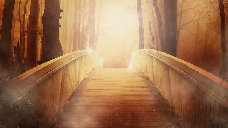 Brücke, Herbst, Sonnenschein, Sonnenaufgang, Herbst, Instagram-Wachstum