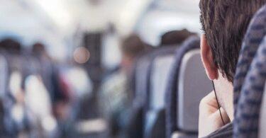 Flugzeug, Fluggast, Passagier