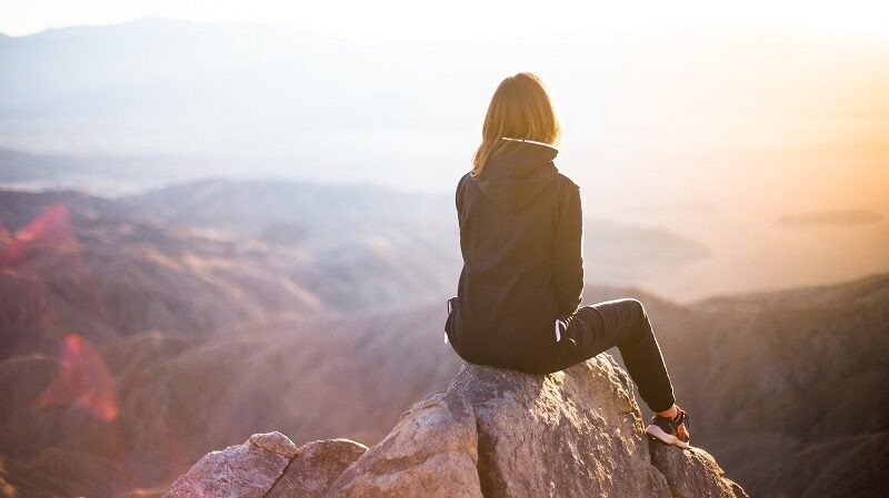 Berg, wandern, reisen
