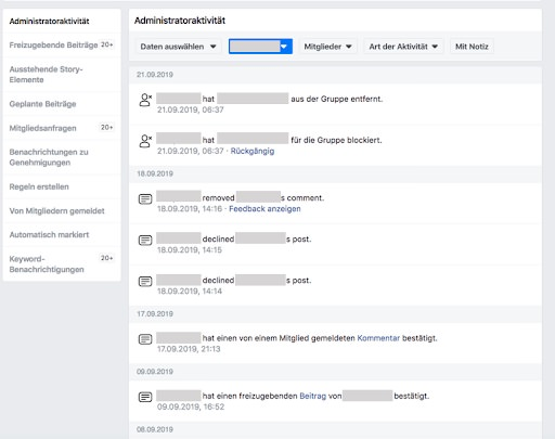 Facebook Insights, Facebook Group Insights, Facebook Gruppen Insights, Social Media Management