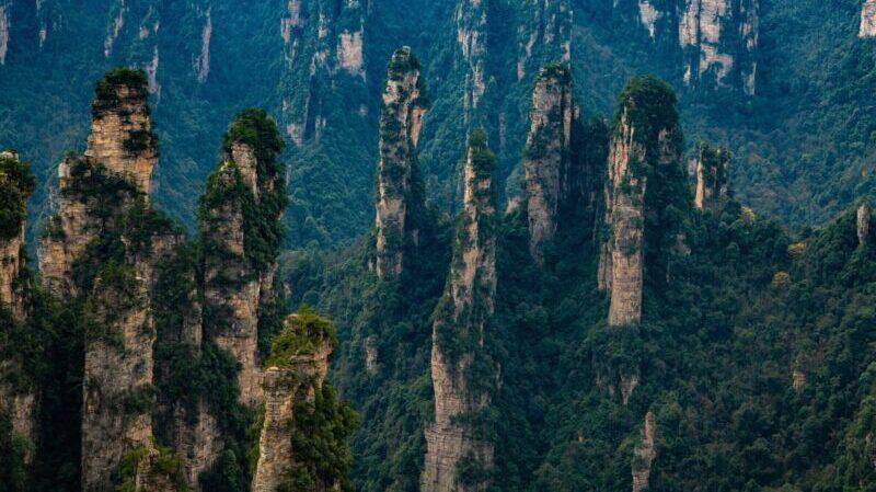 ationaler Waldpark Zhangjiajie, China