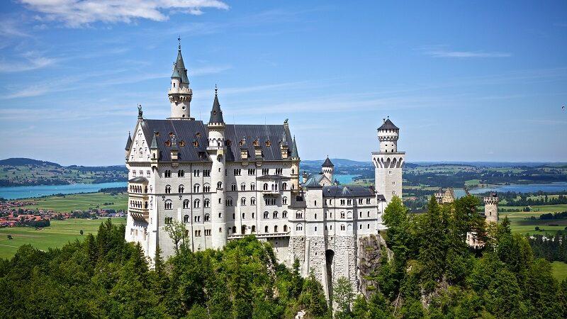 Neuschwanstein, Burg, Sehenswürdigkeiten, Deutschland