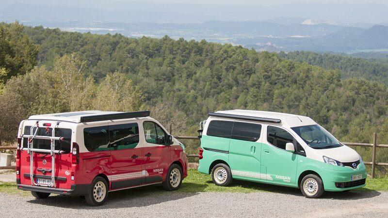 Nissan, e-NV200, Wohnmobil, E-Wohnmobil