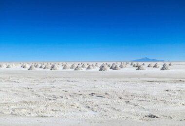 Atacama, Wüste, Salzsee, Salar, Rohstoffe für Elektroautos
