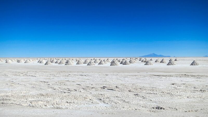 Atacama, Wüste, Salzsee, Salar