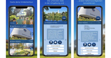 Stempelpass, Stempelpass-App, Tourismus, Bad Homburg, Digitalisierung