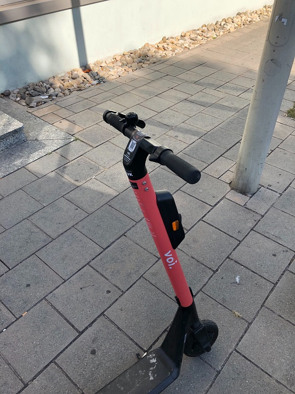 Voi, E-Scooter, Scooter-Sharing