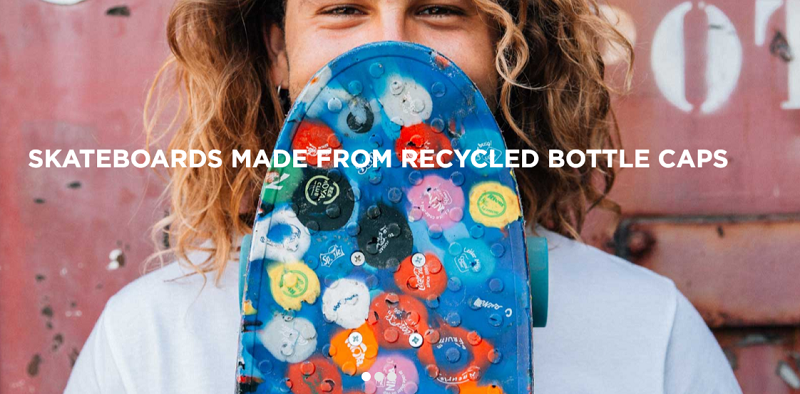 Wasteboards, Skateboard, Plastik, Recyceln