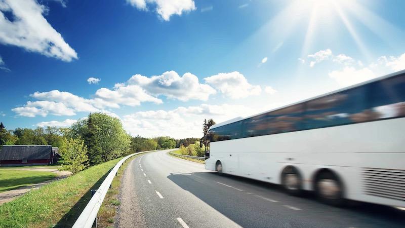 Snapbus, Reisebus, CO2, Nachhaltigkeit, Grün