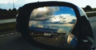Spiegel, Auto, Rückspiegel, Seitenspiegel, toter Winkel