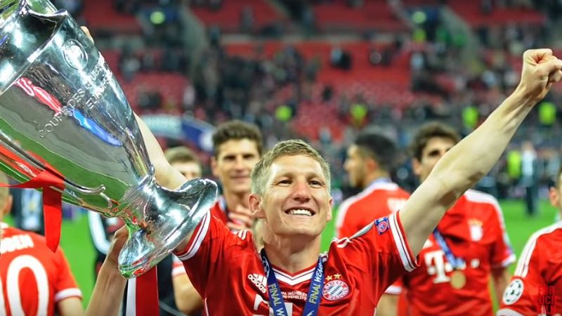 Bastian Schweinsteiger, FC Bayern München, Champions League, Triple-Sieger, beliebteste Instagrammer