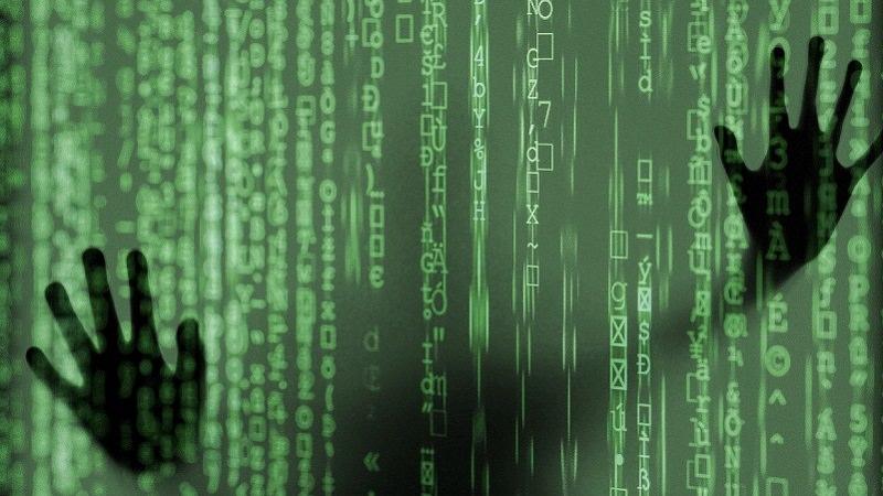 Code, Angst, Gefahr, gefangen, Technik, Technologie