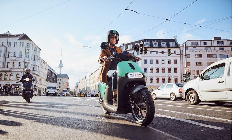 Coup E-Roller Berlin, Bosch, Roller, Scooter