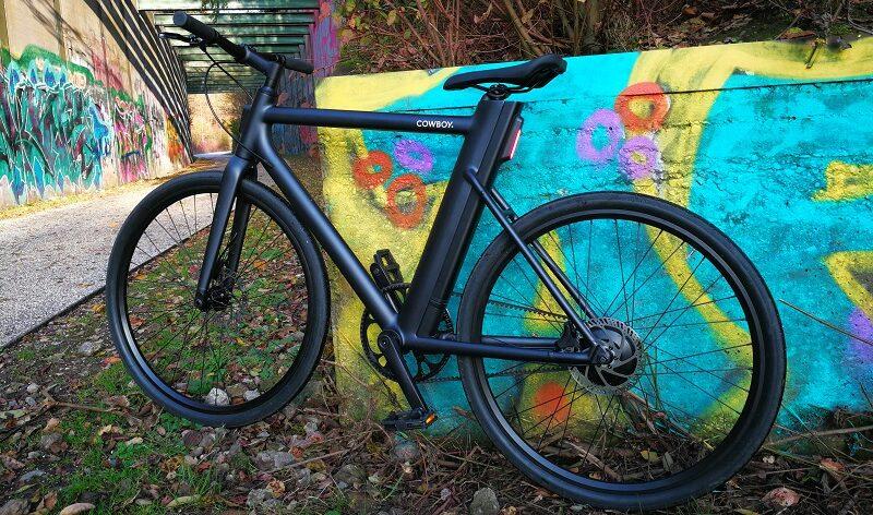 Cowboy, Graffiti, urbanes E-Bike