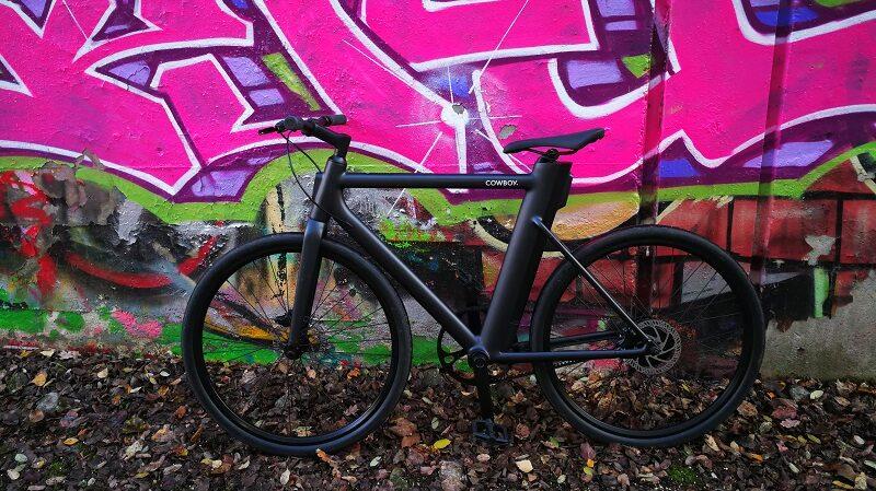 E-Bike, Cowboy, Graffiti