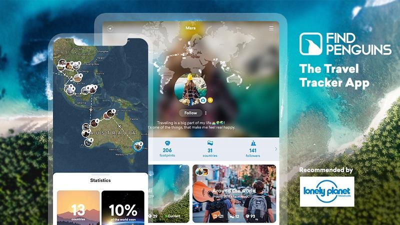 Find Penguins Reise-App