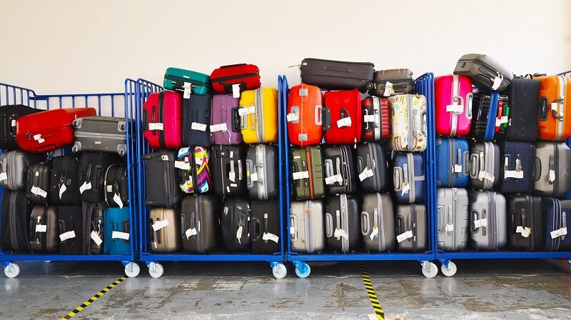 Koffer, Gepäck, Flughafen
