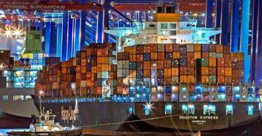 Hamburg, Hamburger Hafen, Schiff, Containerschiff, Schifffahrt