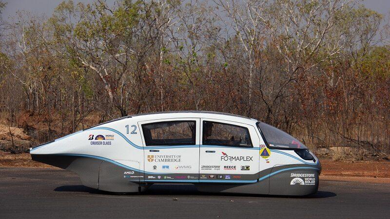 Helia, Solarauto, Solar Challenge 2019, Elektroauto