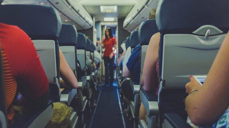 Flugzeug, Fliegen, Fluggast