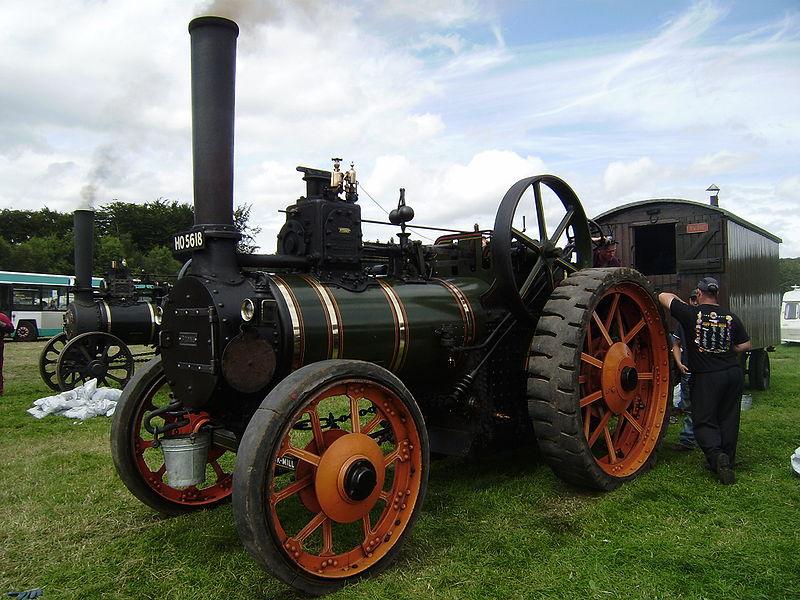 J&H McLaren Traktor, Dampfmaschine, Landwirtschaft