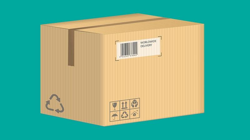 Paket, Karton, Lieferung, Amazon-Paket, Amazon Day