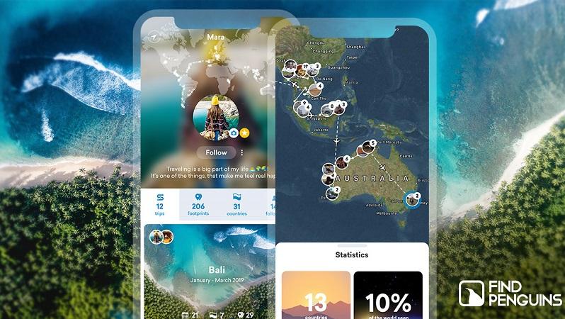 Find Penguins App, reisen, Reise-App