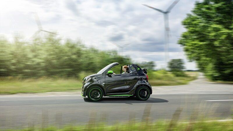 Smart Fortwo Cabrio EQ, Elektroauto, Daimler