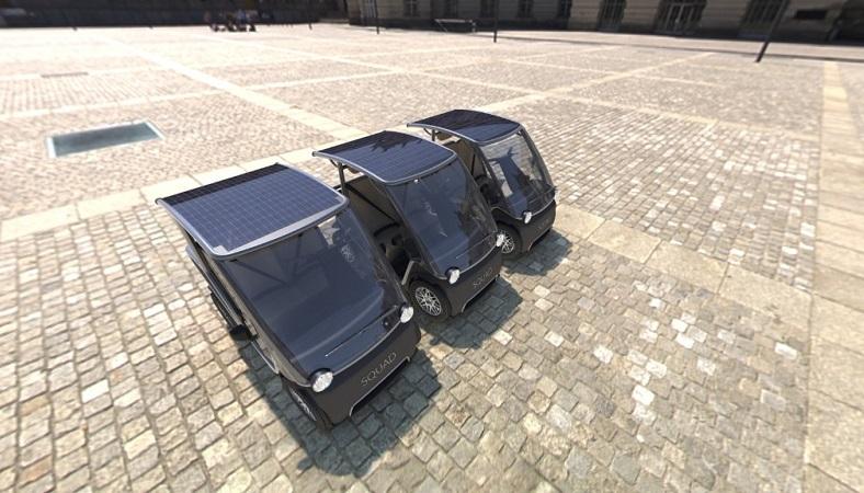 Squad Solarauto, Solarenergie, Elektroauto