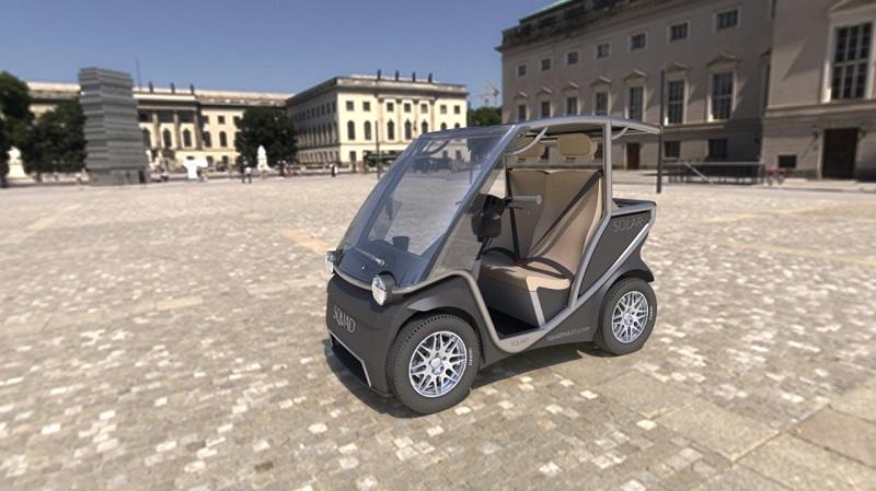 Squad Solarauto, Squadmobility, Elektroauto