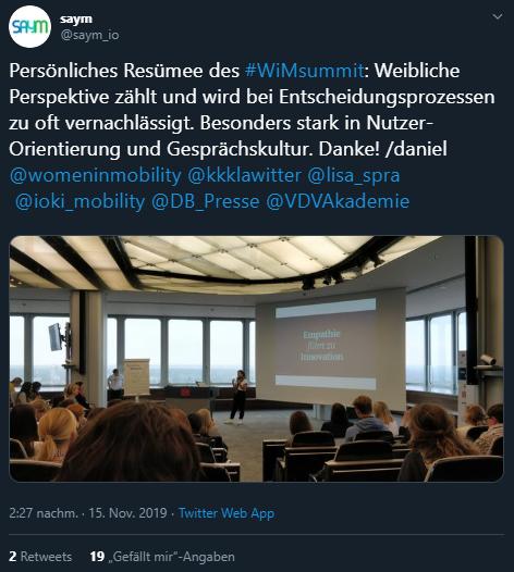 Women in Mobility Summit, WiM, Twitter