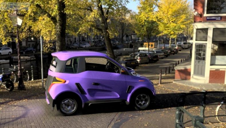 Zetta, russisches Elektroauto