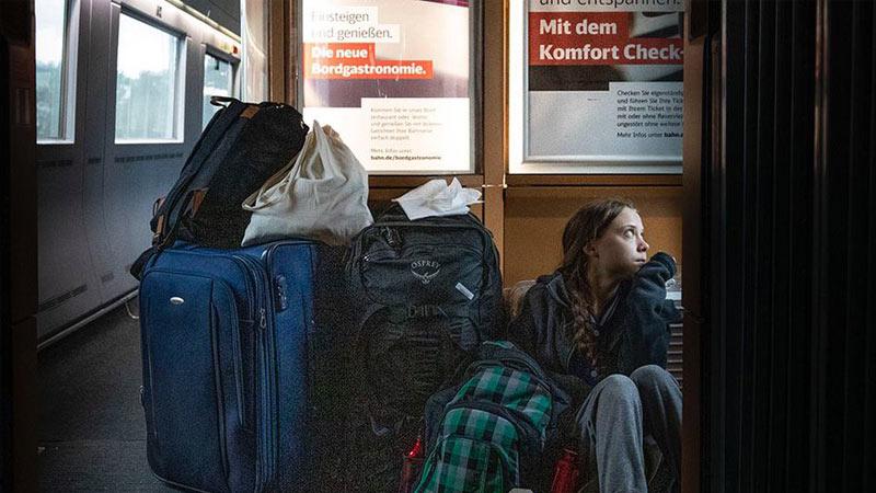 Deutsche Bahn, Greta Thunberg, PR
