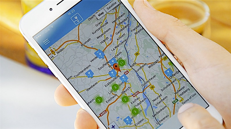 Chargemap App, Elektroautos, Ladestationen