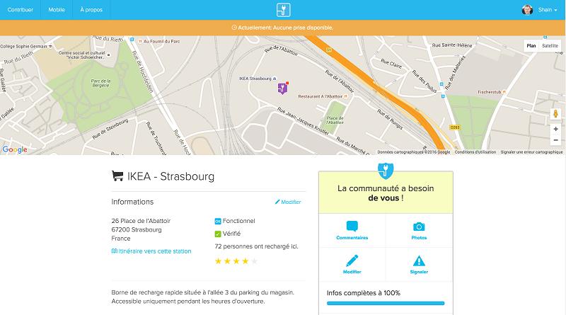 Chargemap, Ladestation, App, Elektroauto