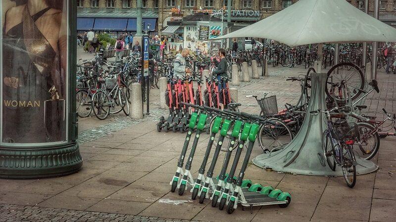 E-Scooter, Leihroller, E-Roller, E-Tretroller, Scooter-Sharing