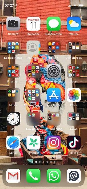 Homescreen, iPhone, Apple, Apps, Roberto Collazos Garcia, We Are Social Deutschland