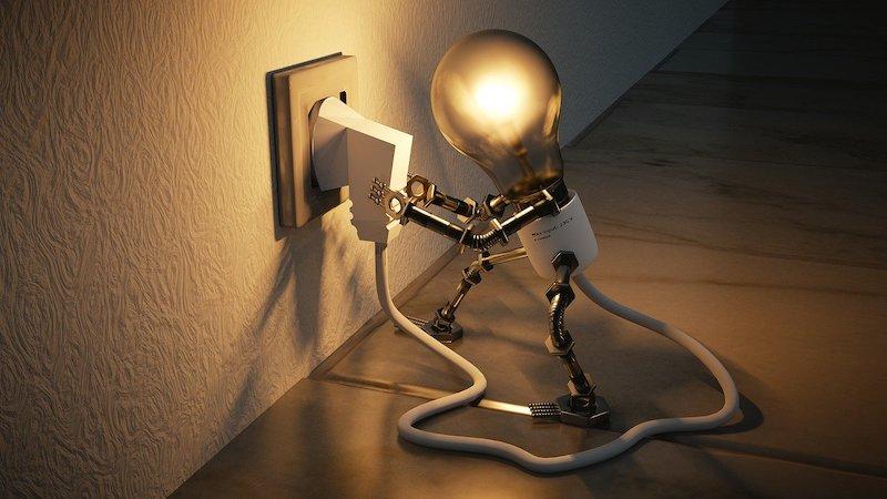 Stromverbrauch, Strom, Internet, Digitalisierung