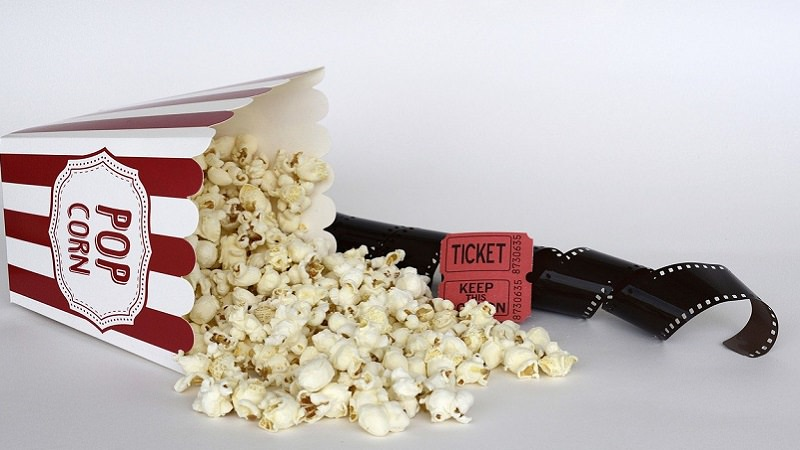 Popcorn, Kino, Filmrolle, Amazon Prime im Januar